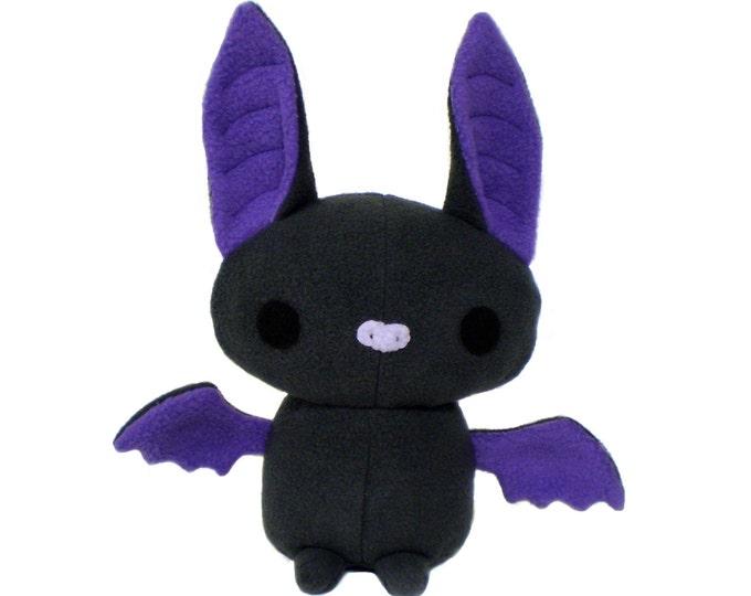 Plush Bat Sewing Pattern