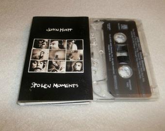 JOHN HIATT  Cassette Tape Stolen Moments 1990