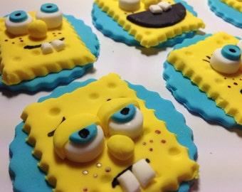 Spongebob SquarePants Cupcake Topper