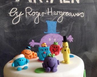 Mr Tickle Etsy - Mr tickle birthday cake