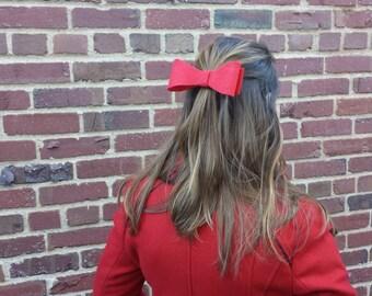 Handmade Felt Bow Hair Ties