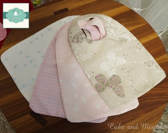 Bibs cotton Terry or Microfiber dubbed