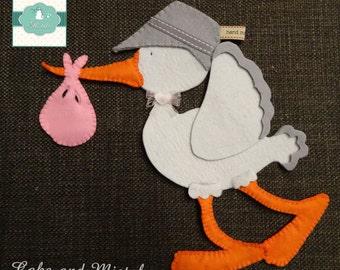 Stork birth bow