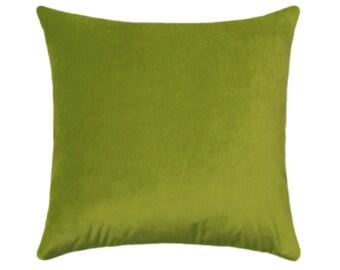 Chartreuse Velvet Pillow Cover // Solid Chartreuse Green Velvet // Navy Velvet Pillow Cover // Obsession Velvet Pillow // Chartreuse Pillow