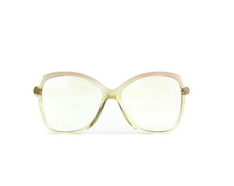Silhouette* RARE woman glasses Vintage Frames red clear Retro Hipster Glasses Eyeglasses
