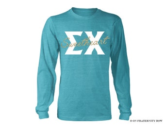 Sigma Chi Sweetheart Long Sleeve