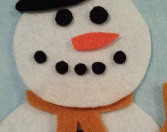 Snowman Felt Board Dress Up Set