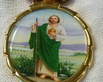 St. Jude Thaddeus Keychain