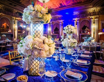 90 x 156 inch Rectangular Teal Tablecloth Crush Charmeuse Satin   Wedding Tablecloth