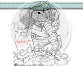 TEDDYBO_266 - BEAR DIGI STAMP