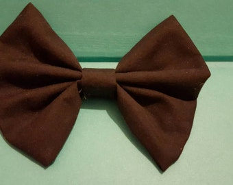 Black bow necklace or bow necklace (see other picture for example)