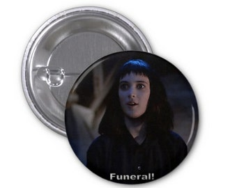 """Pins-face """"funeral"""" Winona Ryder - limited+ARTtrust -"""
