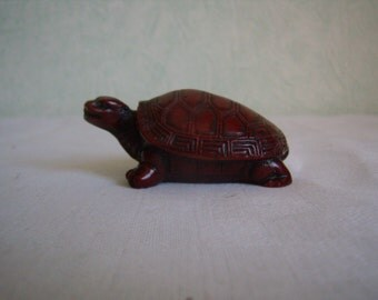 Turtle statue, figurine, resin, collection