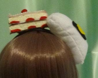 Portal inspired headband