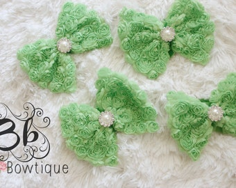 Green Bow-tie Headband