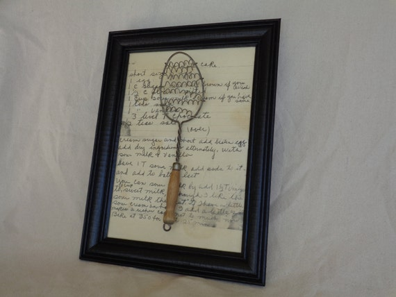 vintage farmhouse kitchen utensil wall decor by rustyambitions