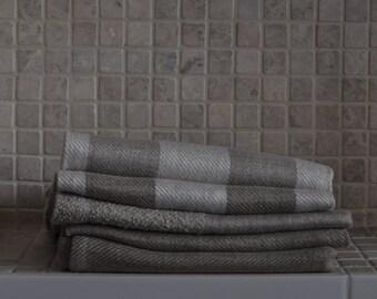 Flax towels. Hand made-100% flax thread.