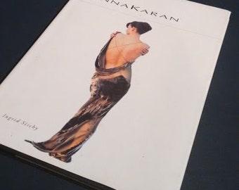 Vintage Donna Karen Fashion Memoir Hardback book by Ingrid Sischy