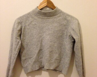 100% Cotton Grey Jumper