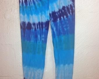 Tie dye Leggings, Leggings, Womens leggings, 2XLarge Leggings, 2XLarge tie dye, Tie dye trousers, Festival leggings, Leggings 16-18 UK