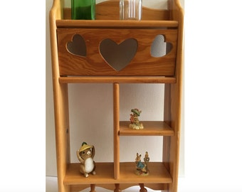 kitchen curio cabinet knick knack shelf etsy 1052