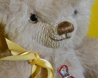 Merry Thought English Teddy Bear Blonde 16 inches