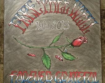 Grateful Dead Fare Thee Well Painting #2/Grateful Dead Final Tour/Fare Thee Well Tour/Grateful Dead Anniversary Tour/Grateful Dead Art