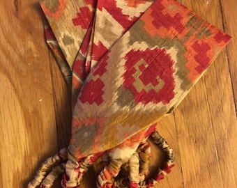 UPcycled Sari Headband, Tribal