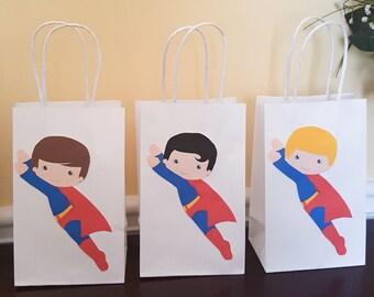 Superhero favor bags, Superhero goodie  bags, superhero  goody bags