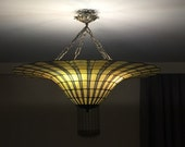 Vintage Lamp Ceiling Lamp Vintage Lampshades Stained Glass Light Stained Glass Shades Vintage Lamp Shade Pendant Light Chandelier