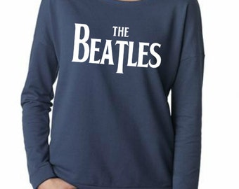The Beatles Scoop neck long sleeve tshirt Size  S M L XL