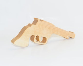 Wooden Personalized Gun toy for boy. Wooden Gun - toy for kids. Handmade kids toy. Wooden eco friendly gun.