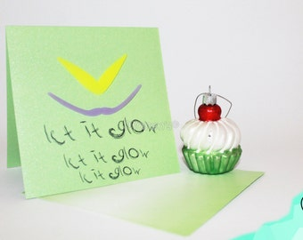 Christmas card - Let it glow