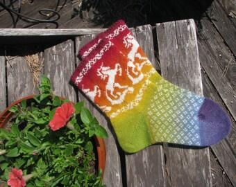 knit socks men socks   wool socks knitted socks Scandinavian pattern Norwegian socks Christmas socks gift to man. gift to woman Women socks.