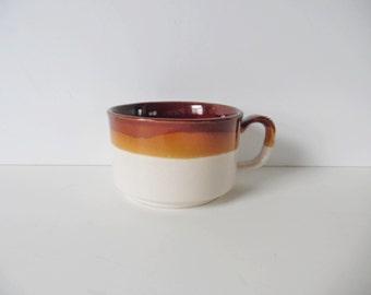 Ceramic Soup Bowl Vintage Mug Vintage Bowl Vintage Soup bowl Mug Vintage ceramic mug Large mug Vintage pottery