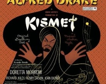 Alfred Drake & The Kismet Original Broadway Cast - Kismet