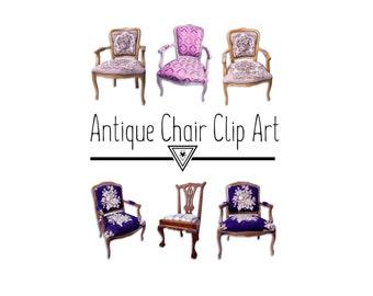 Antique Chair Clip Art - Furniture Clip Art, Clip Art Chair, Clip Art Furniture, Antique Clip Art, Clip Art Antique, Clip Art Furnishings