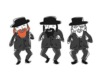 Rabbi Clip Art - Clip Art Rabbi, Jewish Clip Art, Jewish Clipart, Jew Clip Art, Jew Clipart, Judacia, Hanukkah Clip Art, Hanukkah Clipart