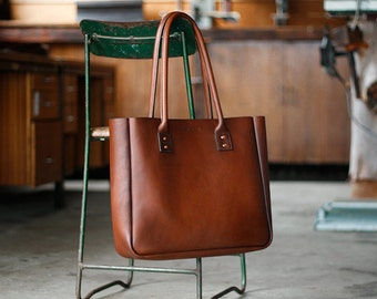 Leather Tote Bag, Large, CarryAll, Shoulder Bag, Australian, Brown, Laptop, MacBook, Shopping Bag, Handbag, Folio, Ipad, Paterson Salisbury