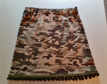 ON SALE, Funky Camo Skirt and Leg Warmers, Upcycled Skirt, Repurposed Skirt, Camo Skirt, Funky Skirt, Ready to Ship