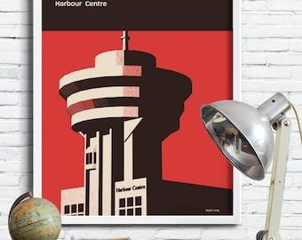 Vancouver Graphic Art Print