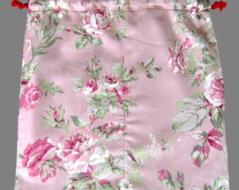 Flamenco Shoes Bag Multi Color Pink Rose Floral Gift Dance Shoes Bag Flamenco Skirts