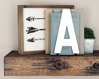 alphabet letters ampersand metal decor anthropologie inspired steel metal letters decor with stands bookend shelfie