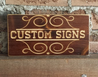 Custom Wood Signs, Wooden Signs, Custom Signs , Carved Sign, Sign, Personalised signs, Wooden Sign, CNC sign, Wall Decor