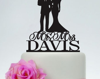 Family Cake Topper,Wedding Topper,Bride and Groom holding baby Cake Topper,Custom Cake Topper,Personalized Cake Topper,Acrylic Topper C151
