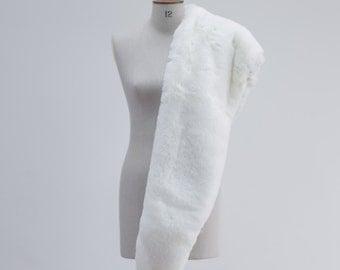 Valentina Bridal Faux Fur Wrap - Ivory
