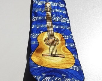 Gold.City vintage blue with the guitar and musical notes