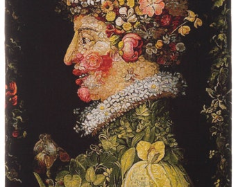 belgian wall tapestry hanging wall decor gobelin Spring by Arcimboldo gobelin jacquard woven - WT-1842