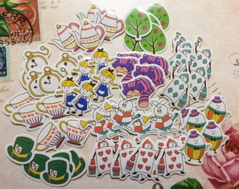 Alice Flake Stickers from Japan