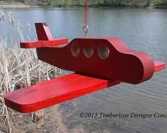 The Original Airplane Suet Feeder by Timberline Designs Canada